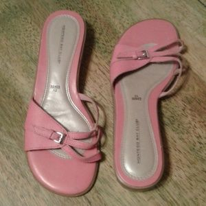 Montego Bay Club Cute Pink Strappy Sandle Size 7m